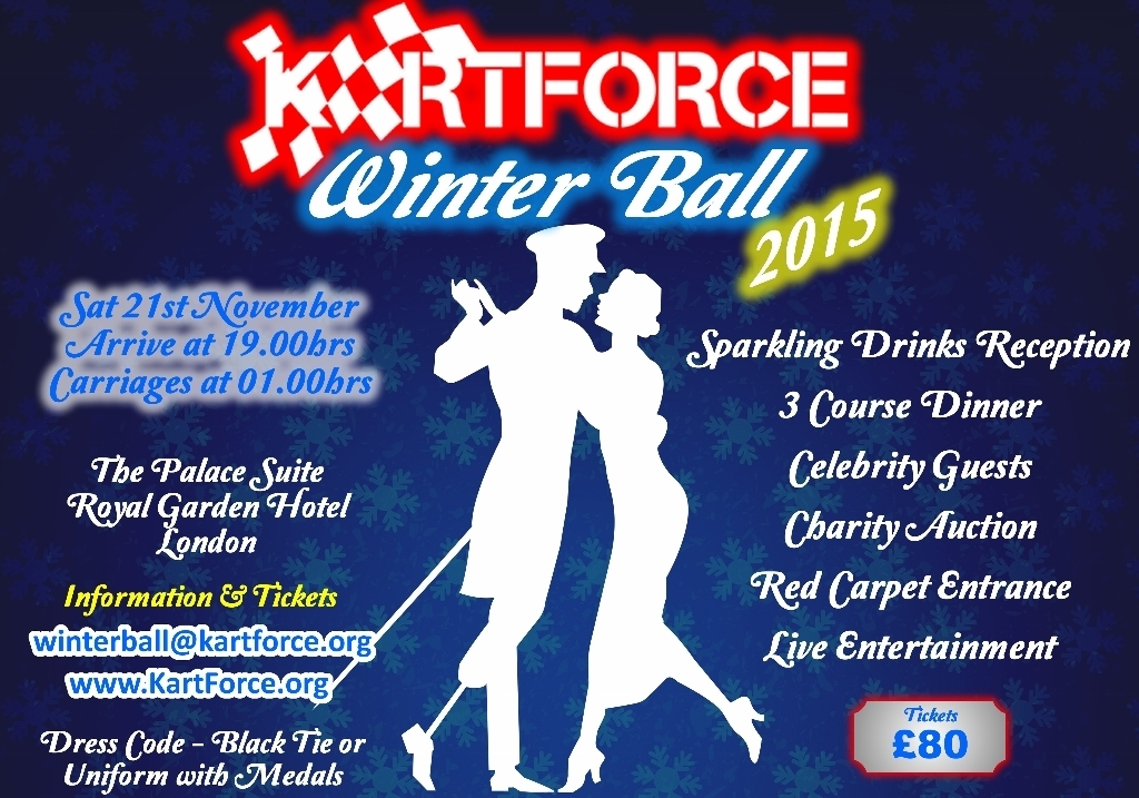 KartForce Winter Ball Poster