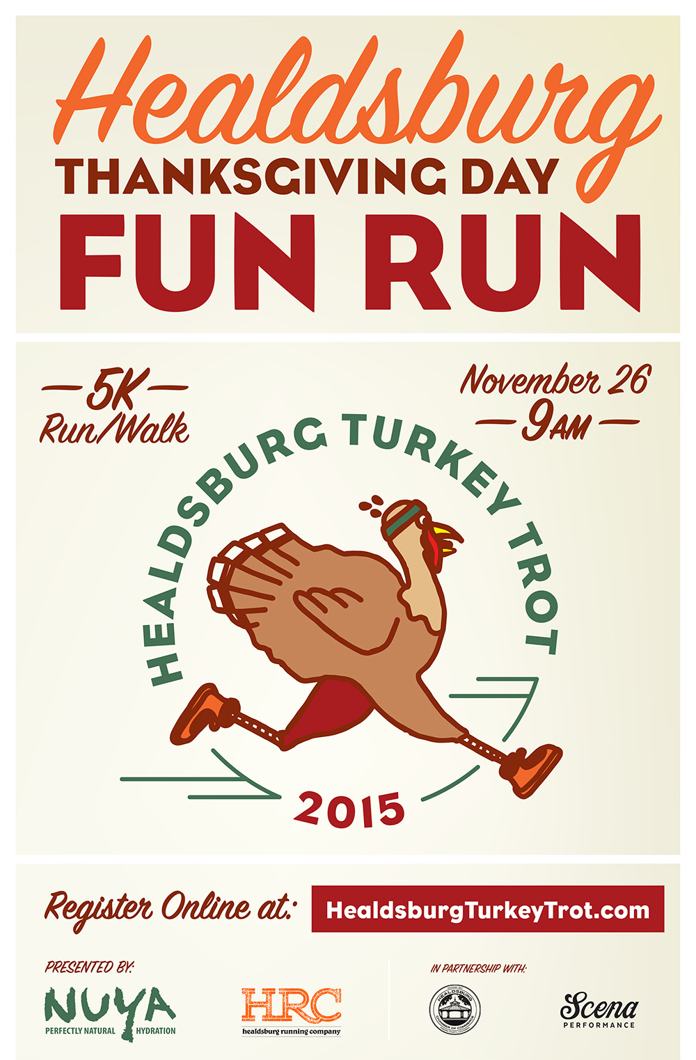 Turkey-Trot poster E