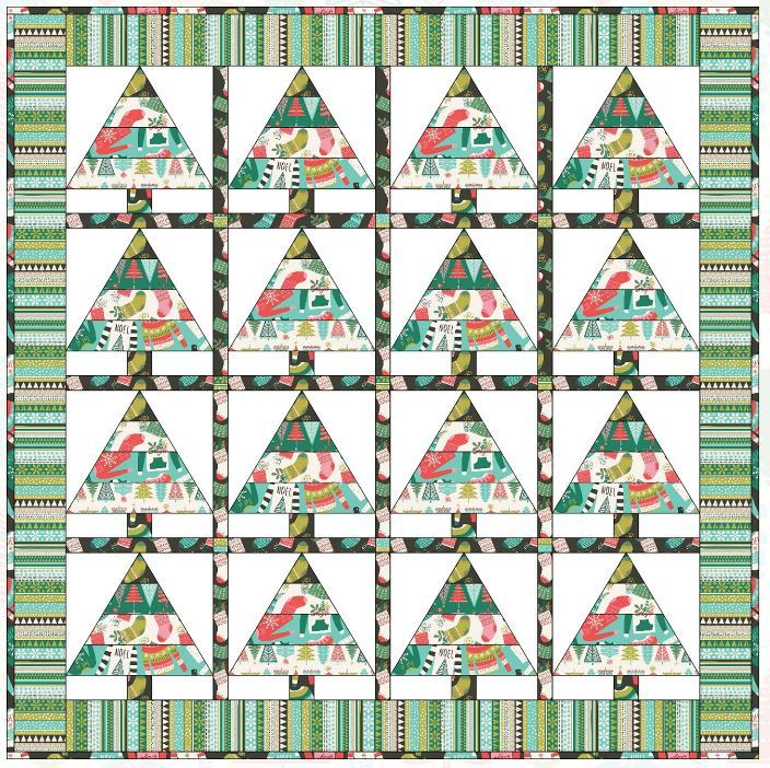 blend-free quilt pattern