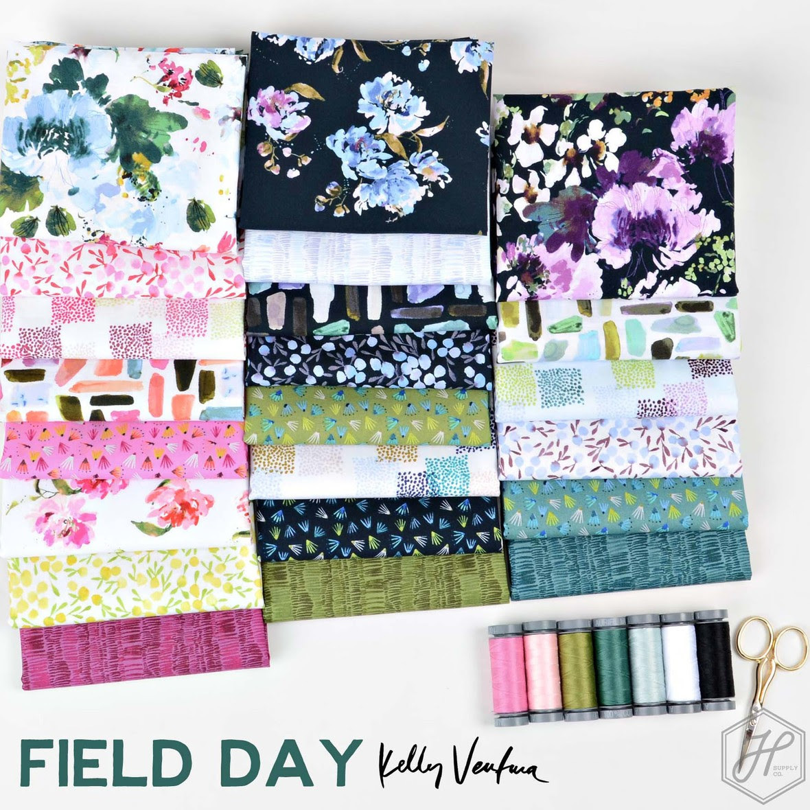 Field Day Fabric from Kelly Ventura at Hawthorne Supply Co