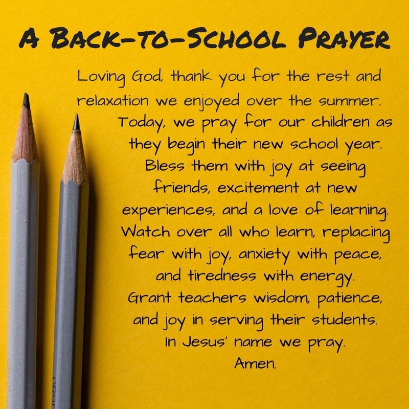 Back-to-School-Prayer