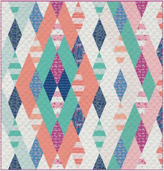Selva Free Quilt Pattern from Art Gallery Fabric