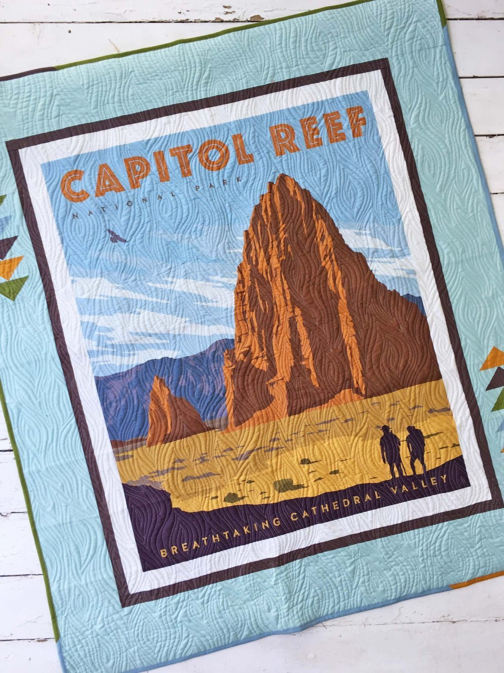 capitol-reef national-park-quilt front