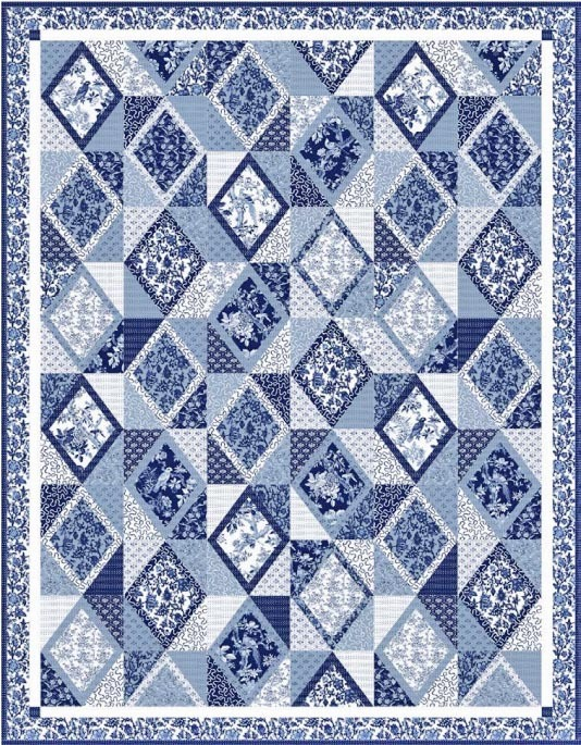 aviary blue byrd free quilt pattern 2