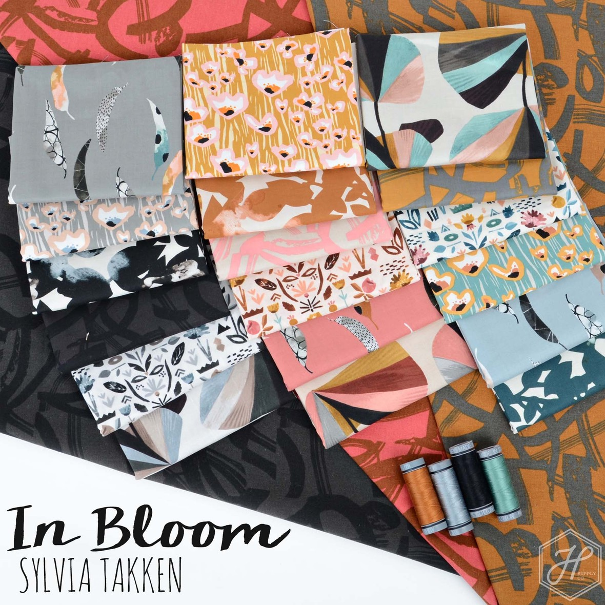 In Bloom Fabric Cotton and Steel at Hawthorne Supply Co