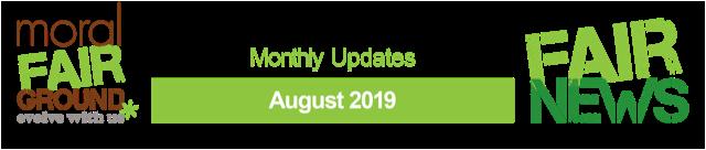 Fair News Monthly Updates August 2019 Banner