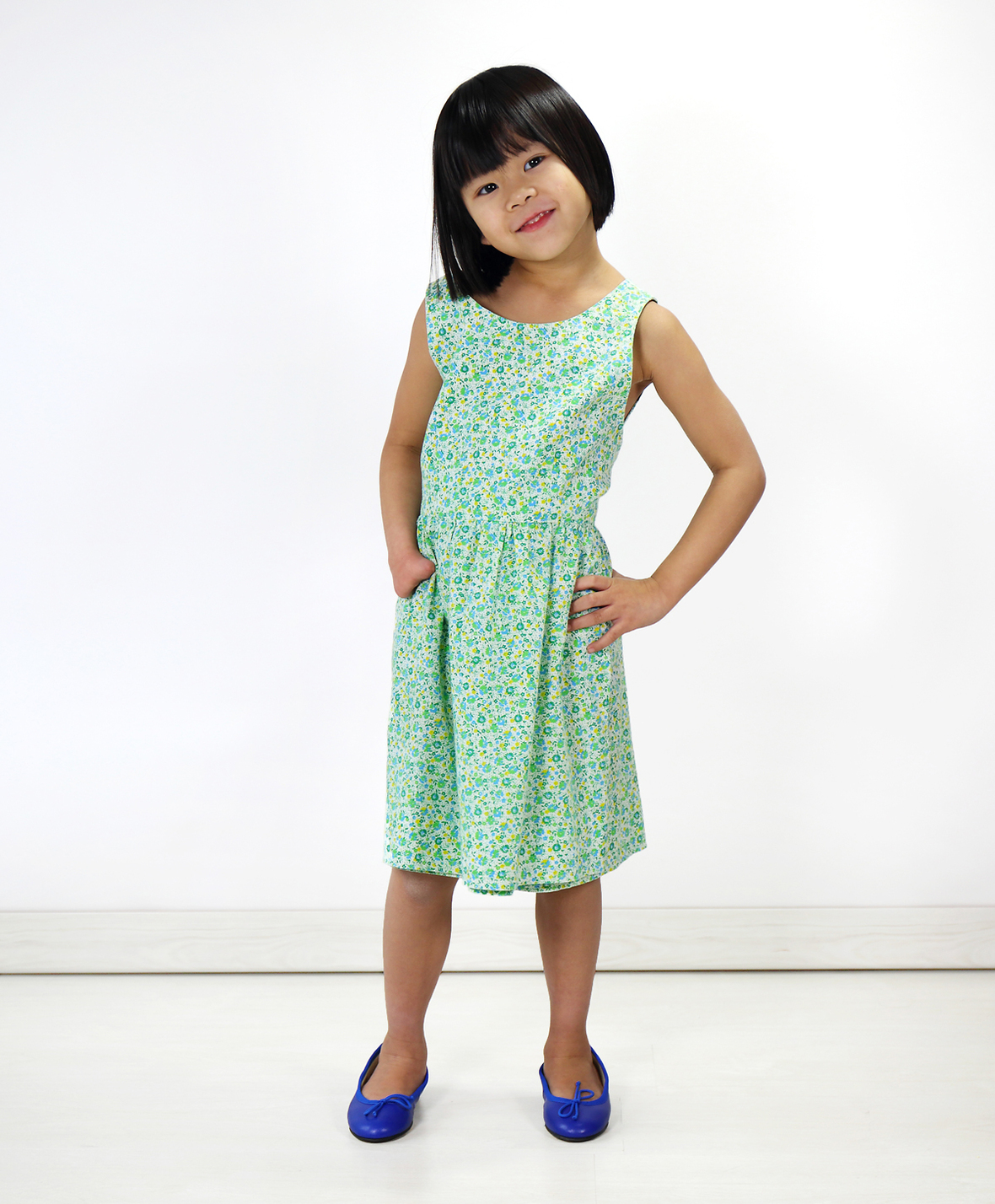Cartwheel dress- oliver and s
