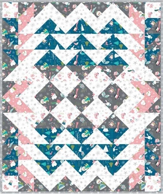 Winter Wonderland Quilt 4
