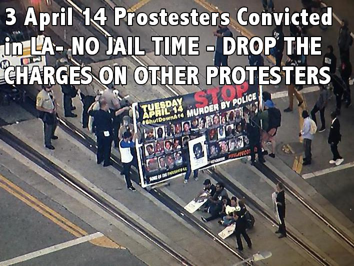 LA blocking train -600 no jail time