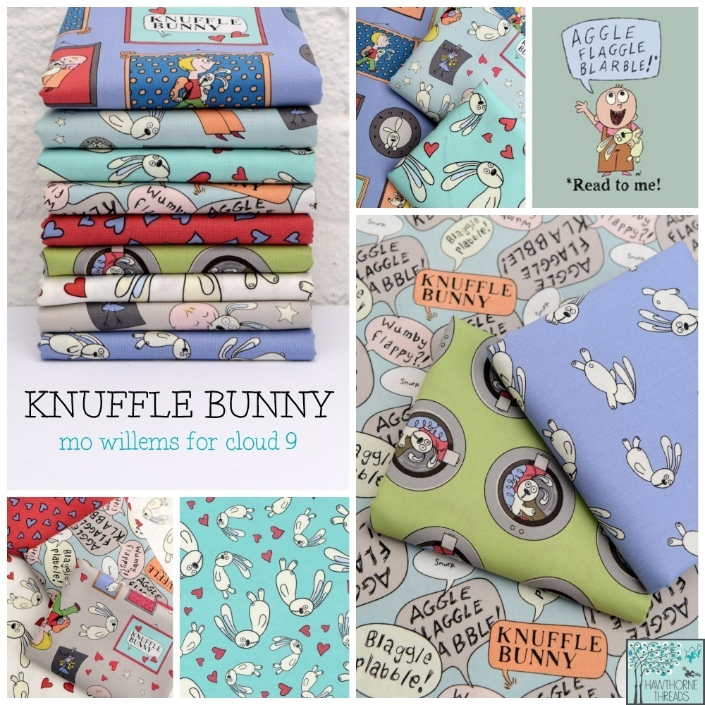 Knuffle Bunny Fabric Poster