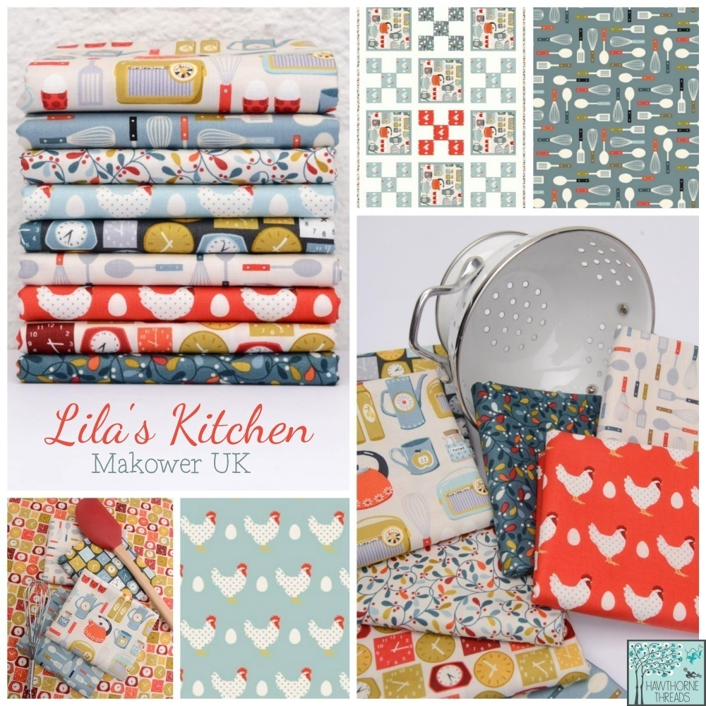 Lilas Kitchen Fabric Poster