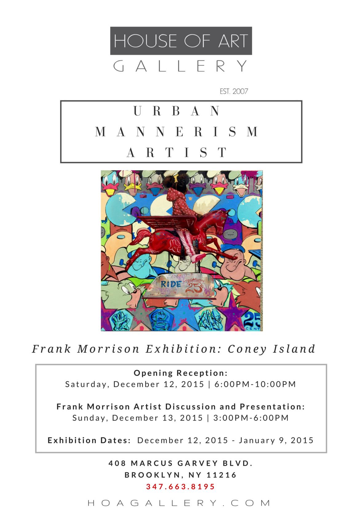 URBAN MANNERISM ARTIST  2