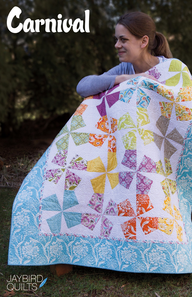 jaybird quilts  carnival sewing pattern