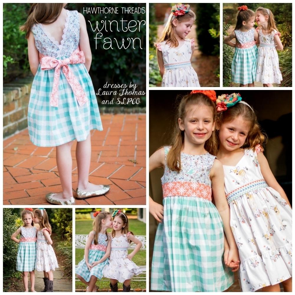 Winter Fawn Fabric Dresses
