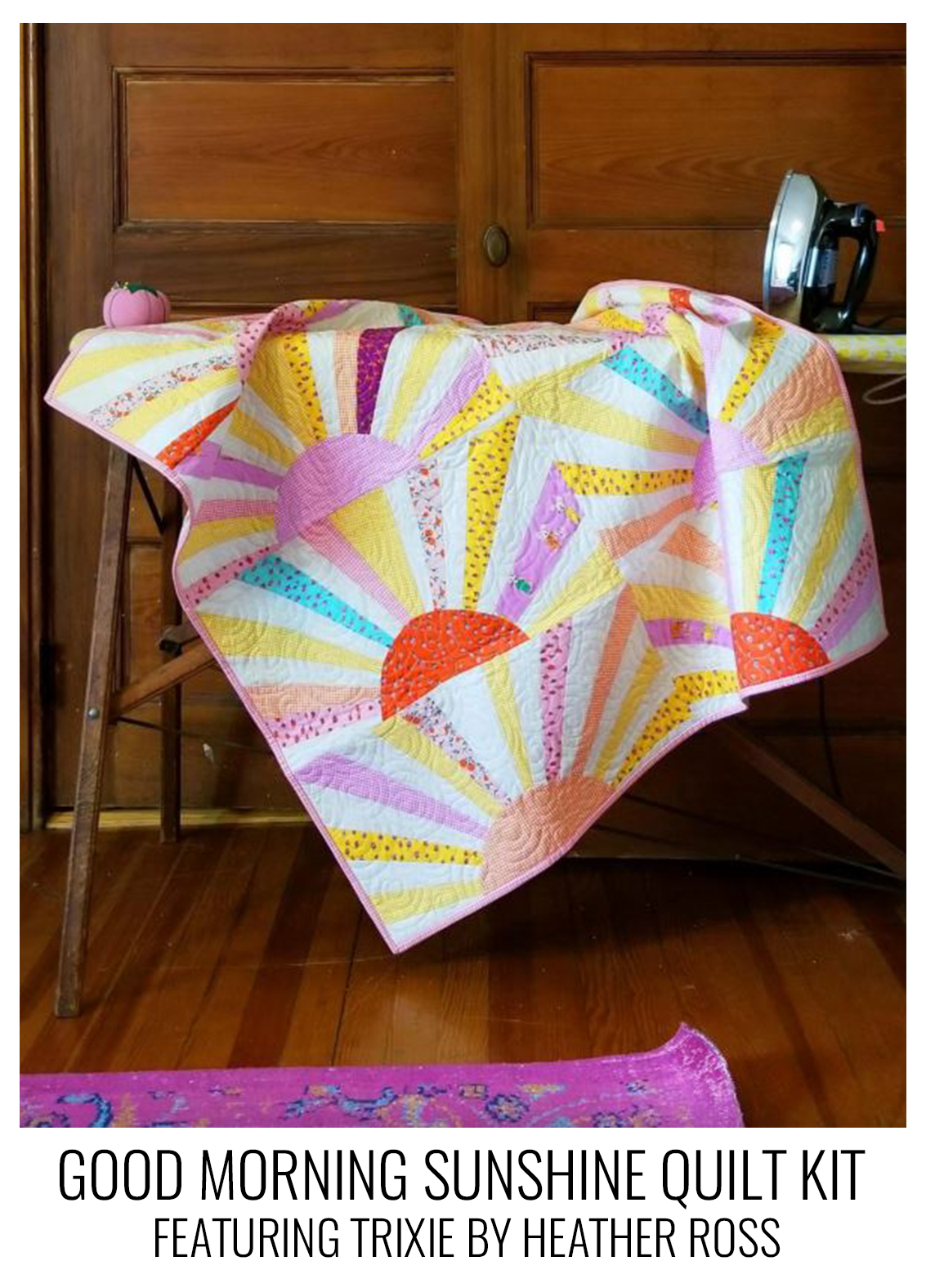 good morning sunshine- trixie quilt kit