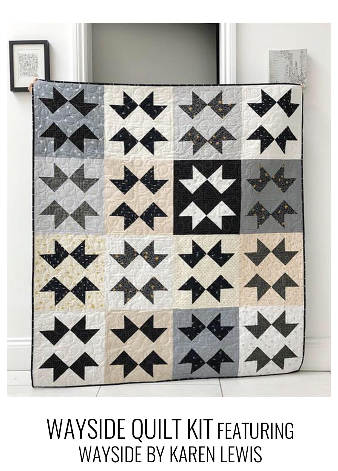 WAYside quilt kit