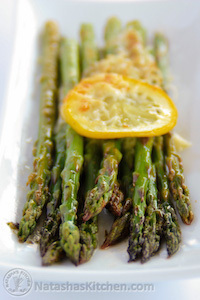 Baked-Asparagus-with-Lemon