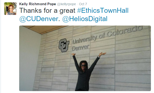 UC Denver tweet