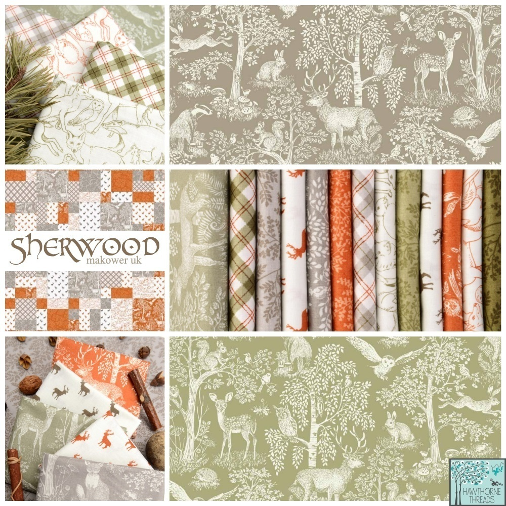 Sherwood Forest Fabric Poster2