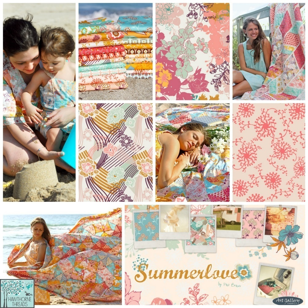 Summerlove Fabric Poster
