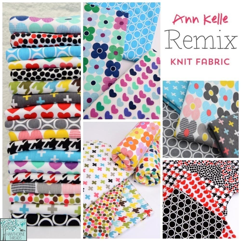 Ann Kelle Remix Knit Fabric Poster