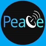 PeaceCast TV logo turq