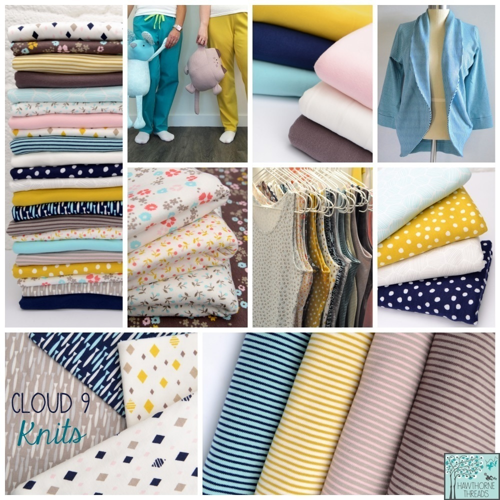 Cloud 9 Knits Fabric Poster