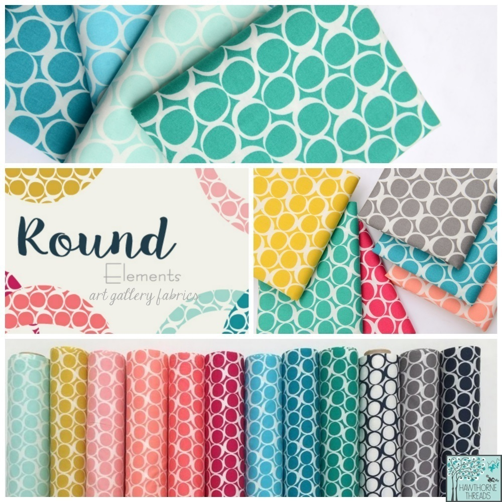 Round Elements Fabric Poster