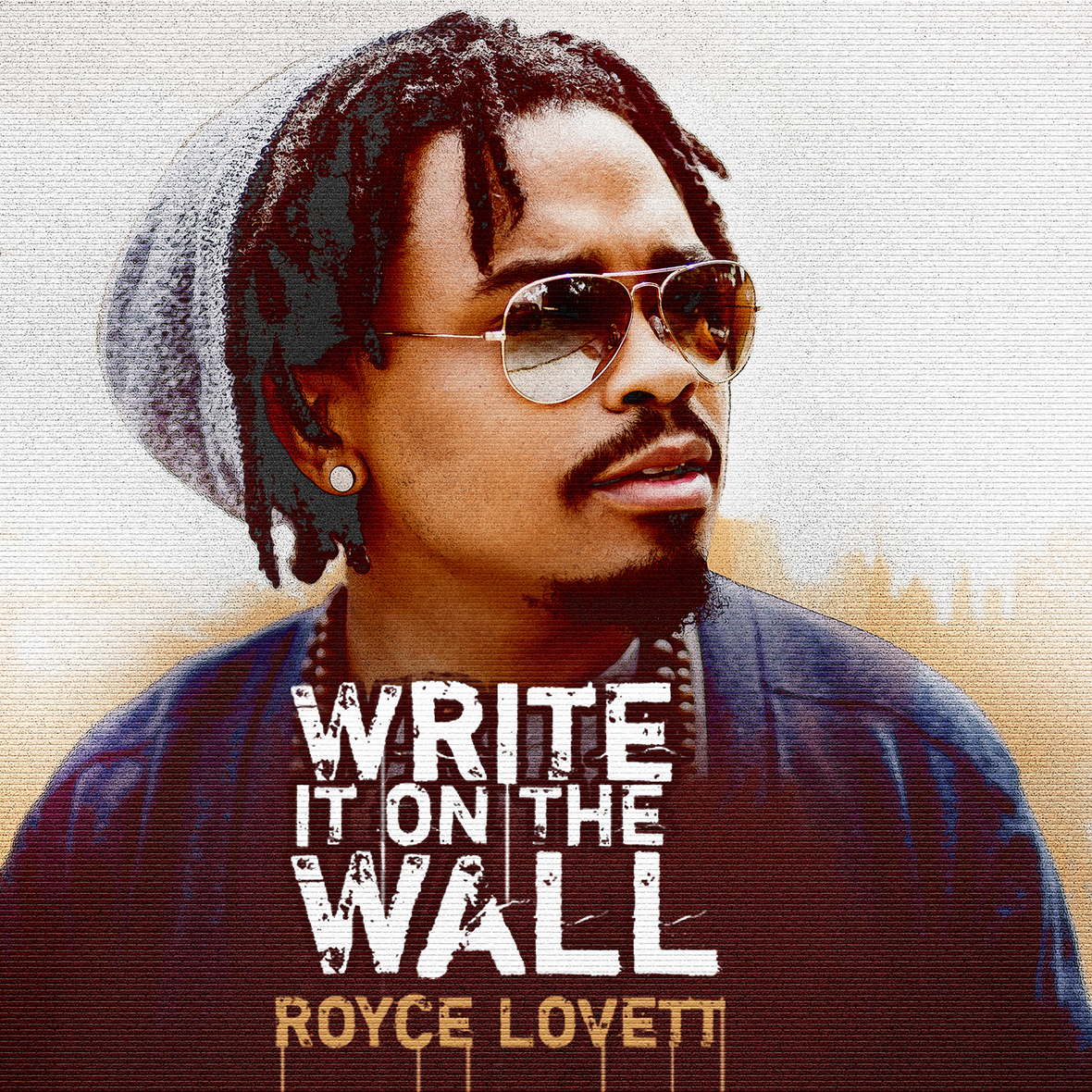 Royce Lovett Write it on the Wall Final Album Cover