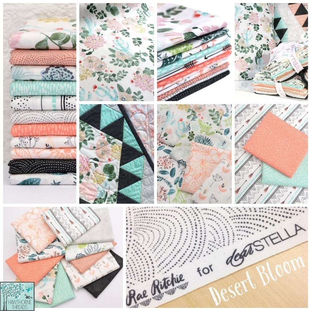 Desert Bloom Fabric Poster