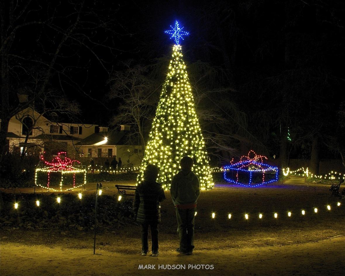 Hopeland Gardens Christmas Lights.Visit Aiken December News