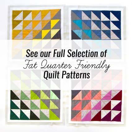 Fat Quarter Friendly Quilt Patterns