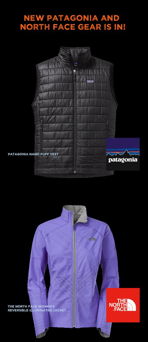 patagonia nface gear
