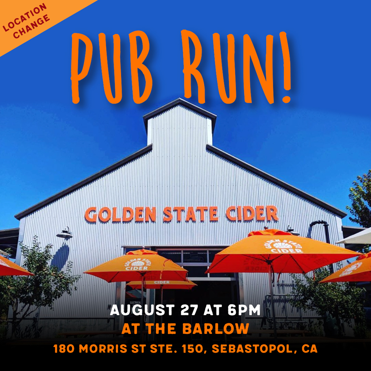 pub run aug 2019 cider