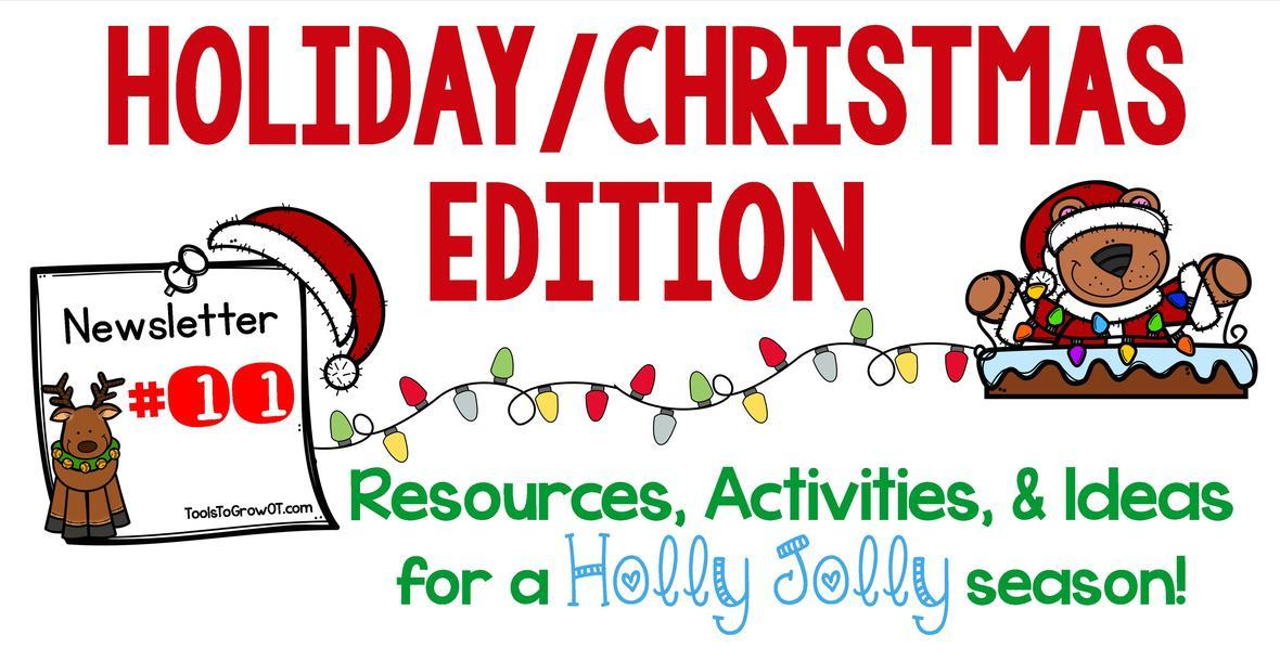 Christmas/Holiday Newsletter!!