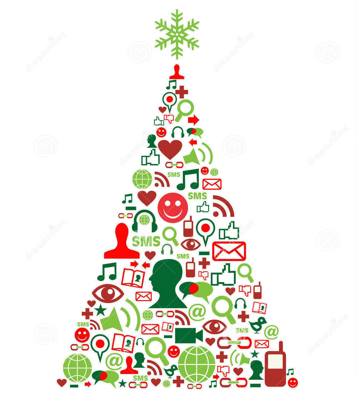 christmas-tree-social-media-icons-21457239