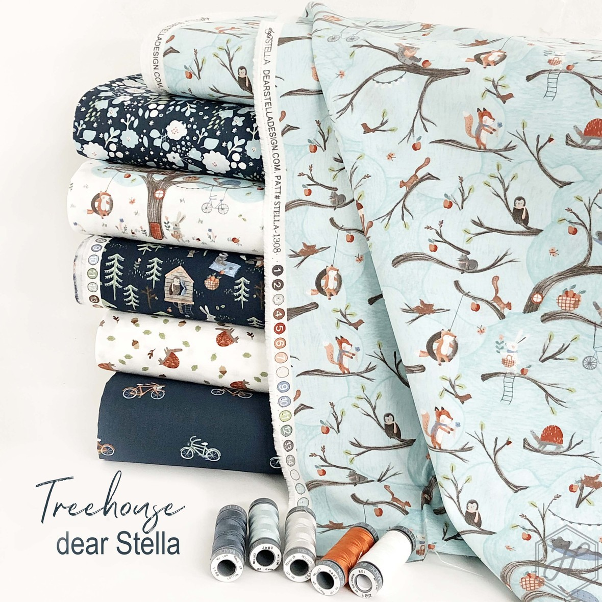 Treehouse Fabric Poster Dear Stellajpg