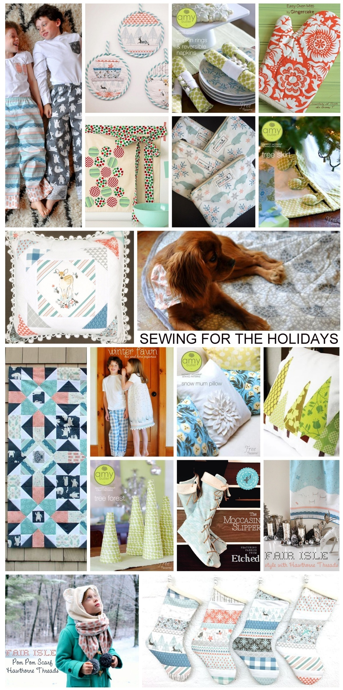 Holiday Sewing Ideas
