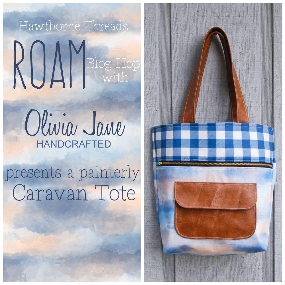Oliva Jane Hadcrafted and Roam Fabric