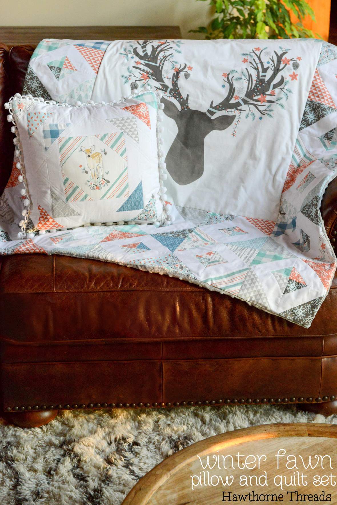 Winter Fawn Fabric
