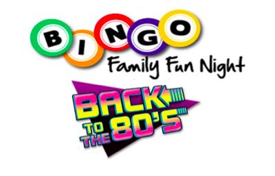 2019 Bingo 80 s Theme