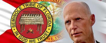 Rick Scott Signs Seminole Compact