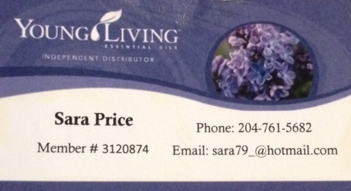 Young Living Essential Oil Sara Price