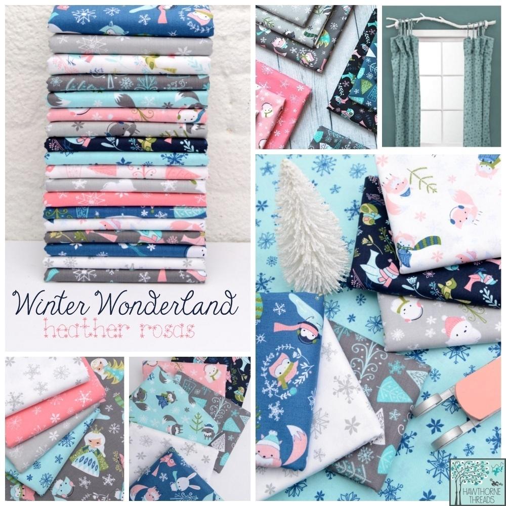 Winter Wonderland Fabric Poster