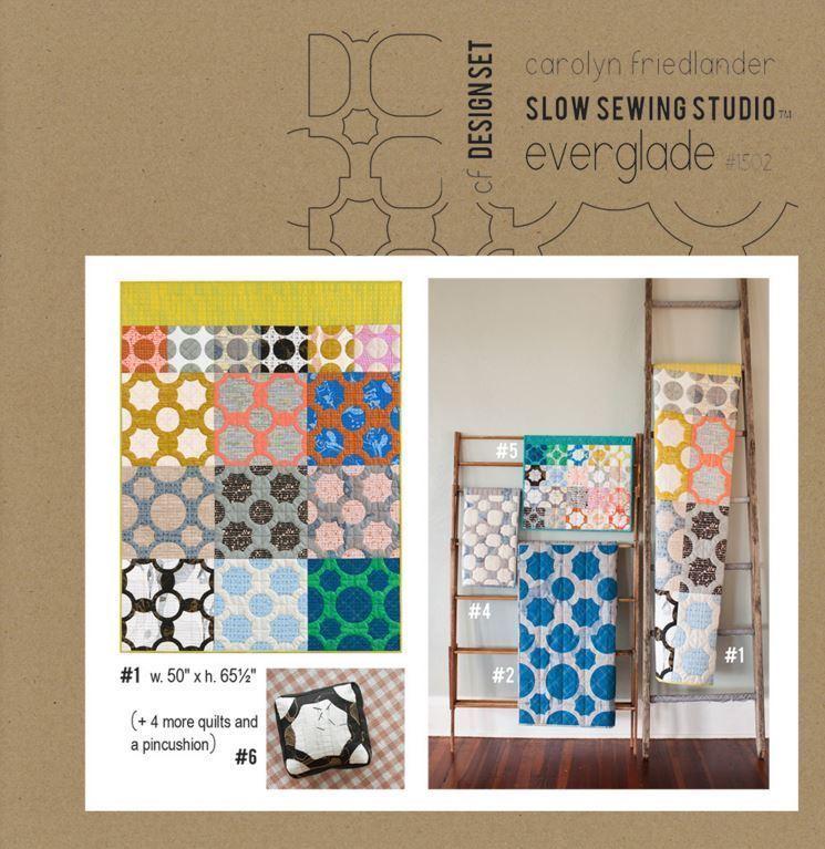 carolyn friedlander everglade quilt sewing pattern