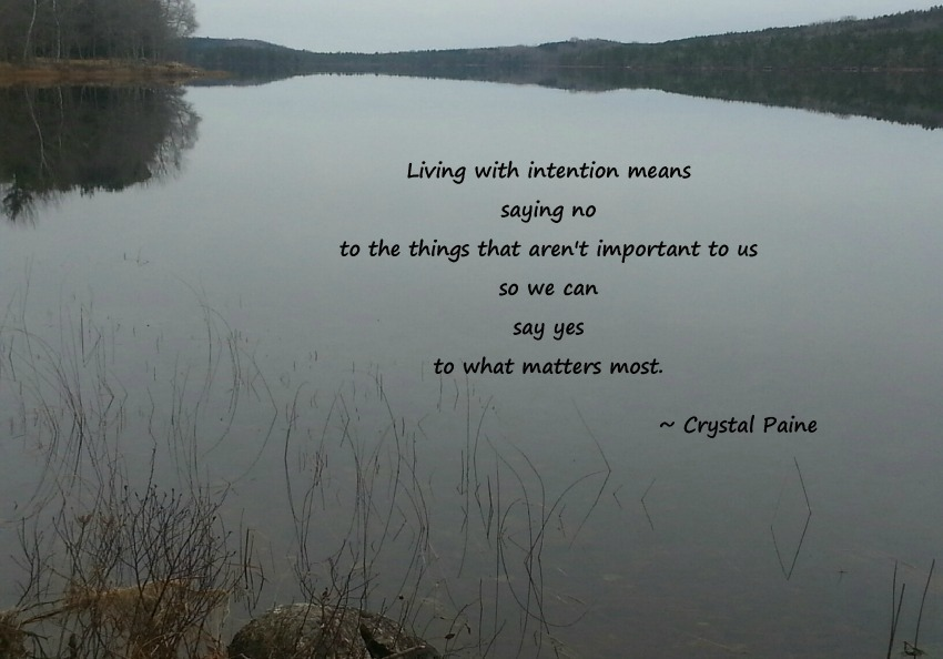 Living with intention1