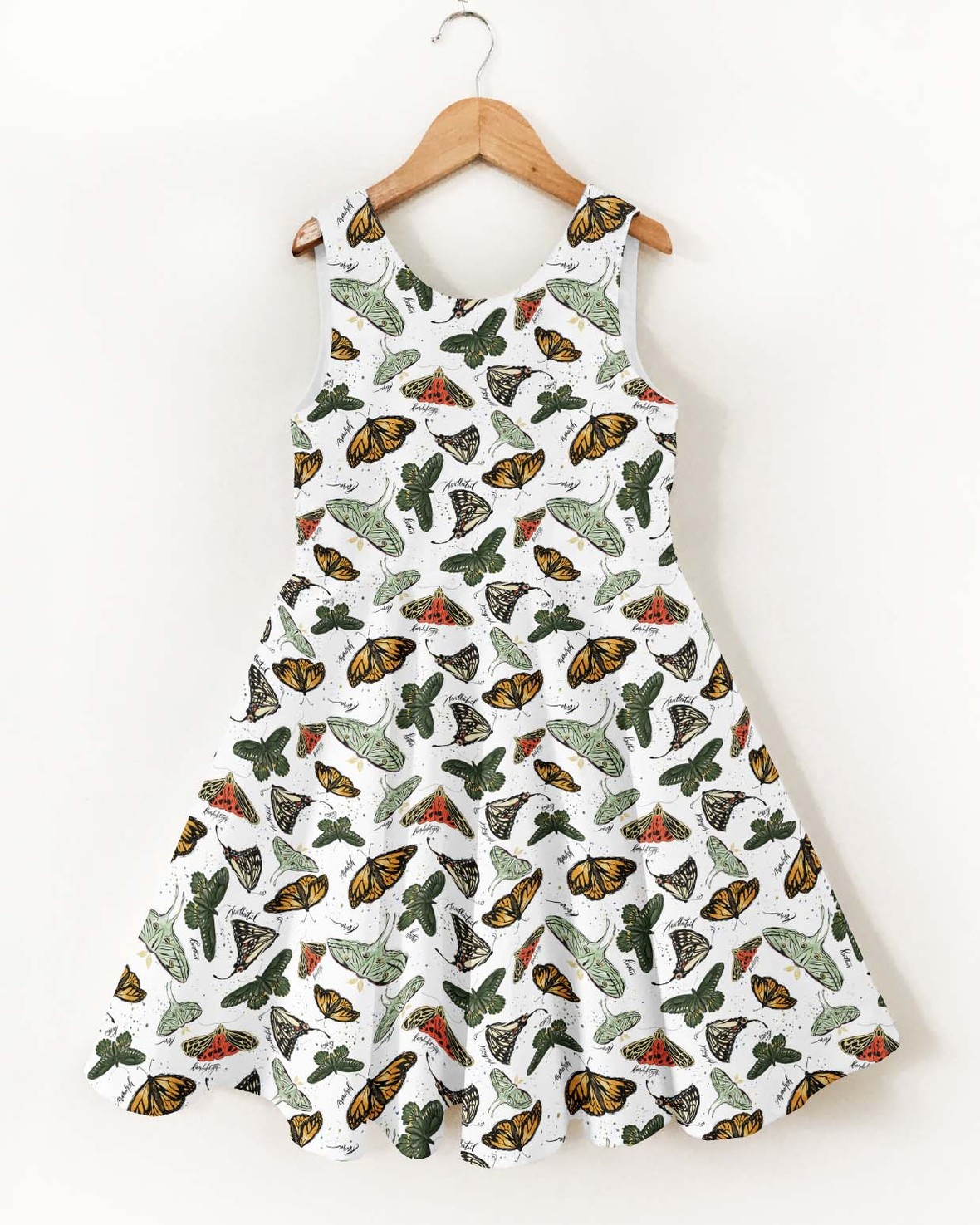 Ayda Dress small butterflies