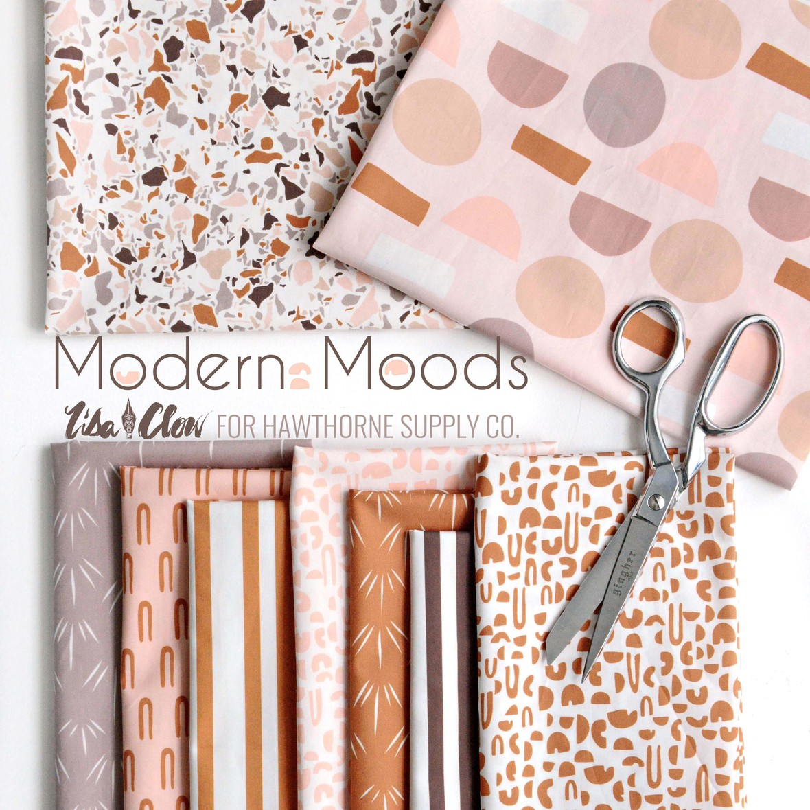 Modern Moods Fabric Poster Lisa Clow for Hawthorne Supply Co