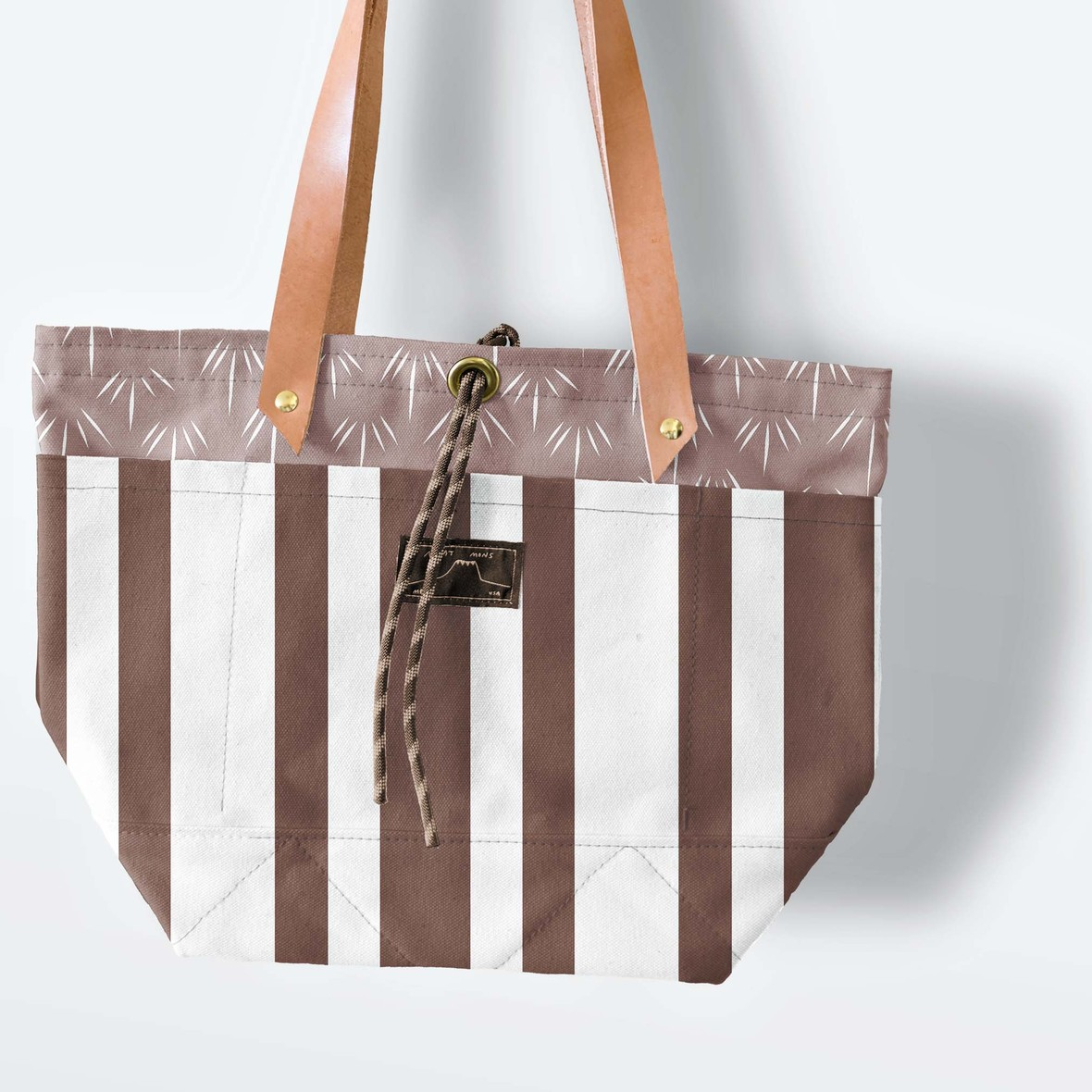 Canvas Tote Large Stripes