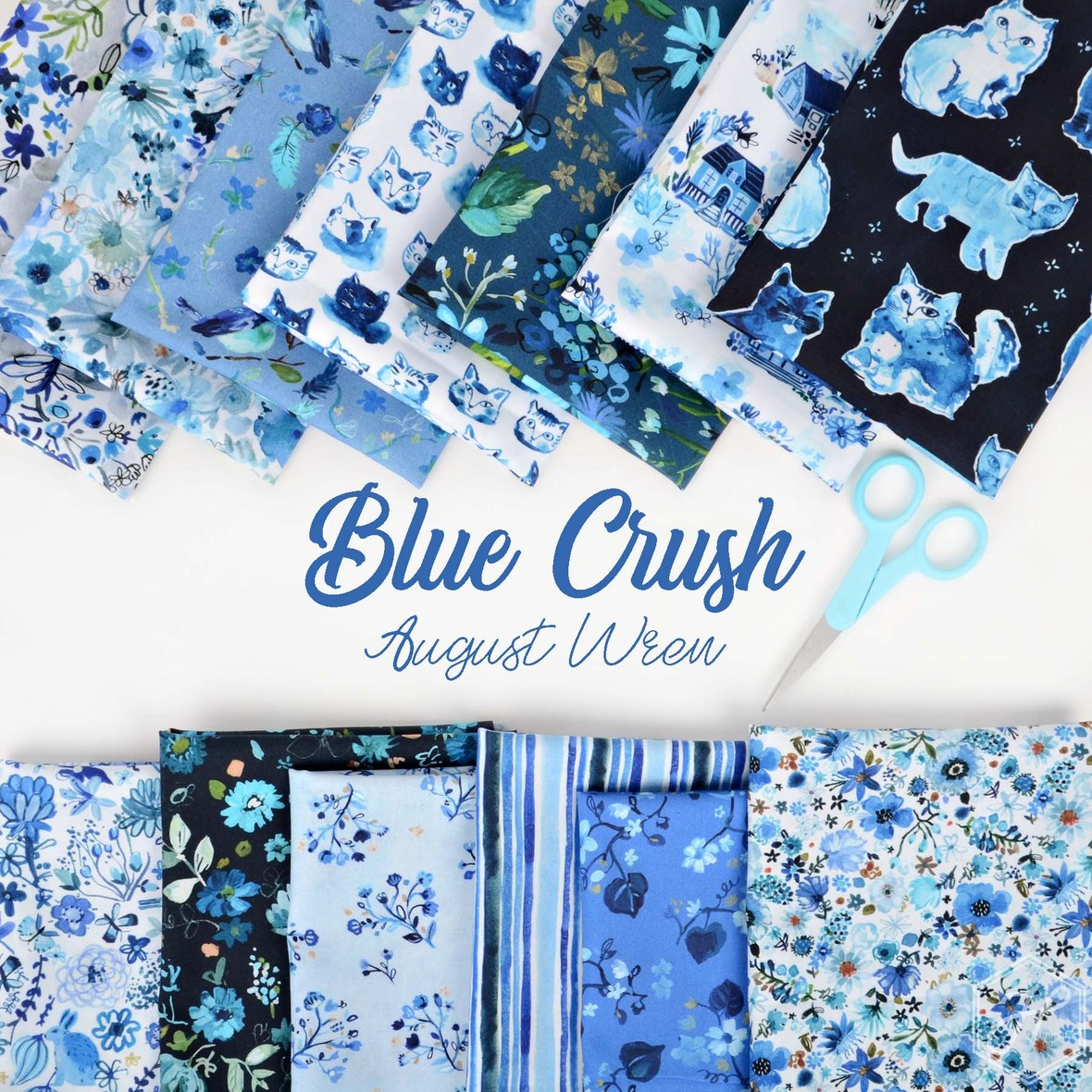Blue Crush from from August Wren and Dear Stella at Hawthorne Supply Co